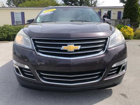 2015 Chevrolet Traverse for sale at Kinston Auto Mart in Kinston NC