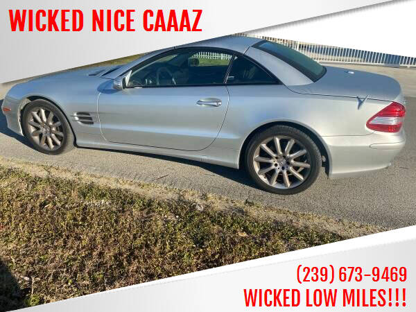 2007 Mercedes-Benz SL-Class for sale at WICKED NICE CAAAZ in Cape Coral FL