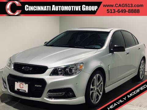2015 Chevrolet SS for sale at Cincinnati Automotive Group in Lebanon OH