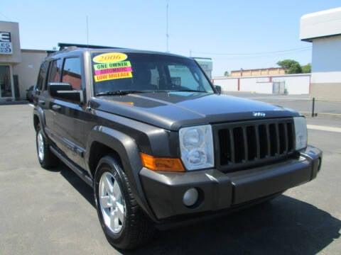 2006 Jeep Commander for sale at Luxe Auto Sales in Modesto CA