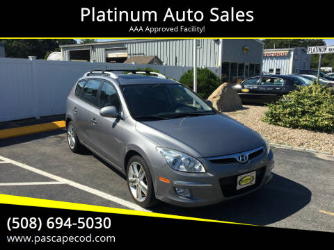 2011 Hyundai Elantra Touring for sale at Platinum Auto Sales in South Yarmouth MA