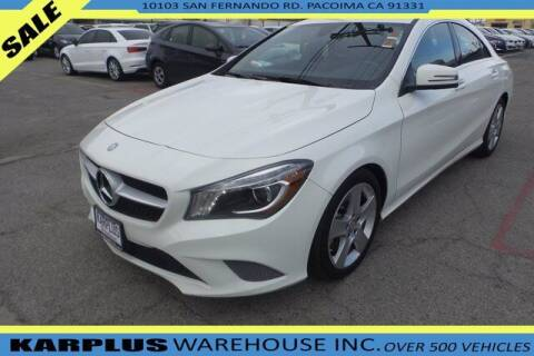 2016 Mercedes-Benz CLA for sale at Karplus Warehouse in Pacoima CA