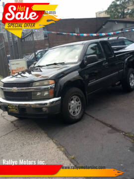 2005 Chevrolet Colorado for sale at Rallye  Motors inc. in Newark NJ