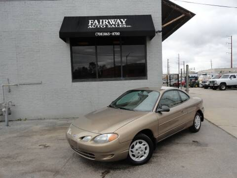 1998 Ford Escort for sale at FAIRWAY AUTO SALES, INC. in Melrose Park IL