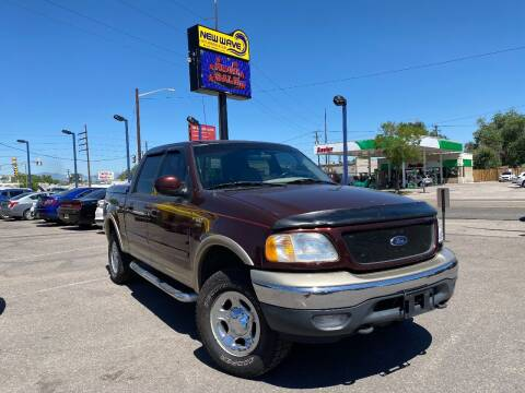 2001 Ford F-150 for sale at New Wave Auto Brokers & Sales in Denver CO