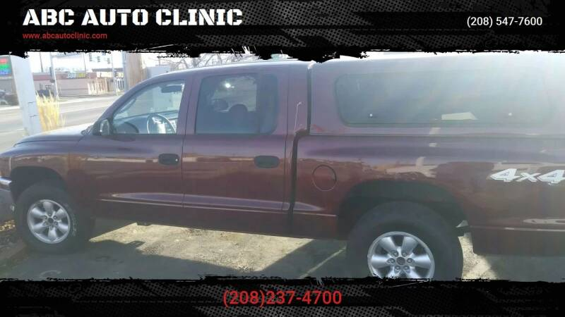 2003 Dodge Dakota for sale at ABC AUTO CLINIC - Chubbuck in Chubbuck ID