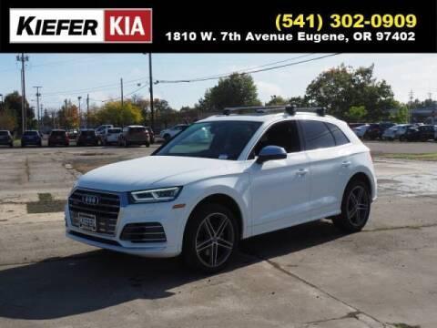 2018 Audi SQ5 for sale at Kiefer Kia in Eugene OR