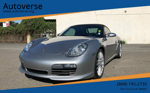 2008 Porsche Boxster for sale at Autoverse in La Habra CA