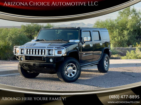 2006 HUMMER H2 for sale at Arizona Choice Automotive LLC in Mesa AZ