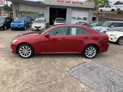 2007 Lexus IS 250 for sale at State Line Motors in Bristol VA