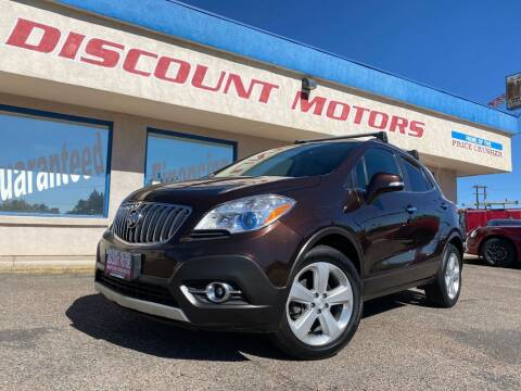 2015 Buick Encore for sale at Discount Motors in Pueblo CO