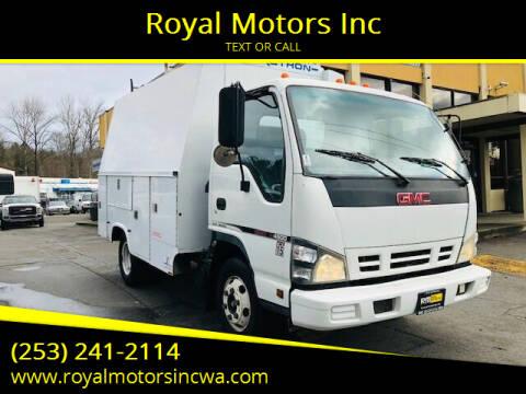 2007 GMC W4500 for sale at Royal Motors Inc in Kent WA