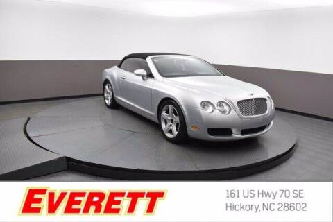 2007 Bentley Continental for sale at Everett Chevrolet Buick GMC in Hickory NC