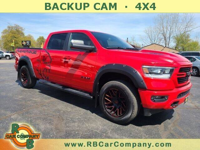 2019 RAM All-New 1500 for sale at R & B CAR CO - R&B CAR COMPANY in Columbia City IN