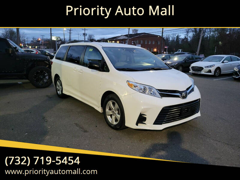 2018 Toyota Sienna for sale at Mr. Minivans Auto Sales - Priority Auto Mall in Lakewood NJ