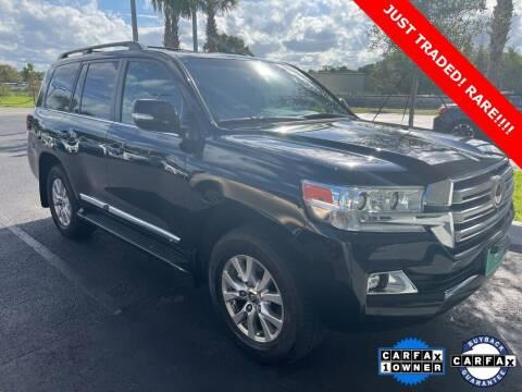 2016 Toyota Land Cruiser for sale at PHIL SMITH AUTOMOTIVE GROUP - Toyota Kia of Vero Beach in Vero Beach FL