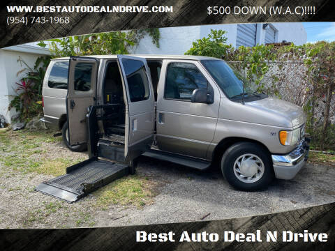 2002 Ford E-Series Wagon for sale at Best Auto Deal N Drive in Hollywood FL