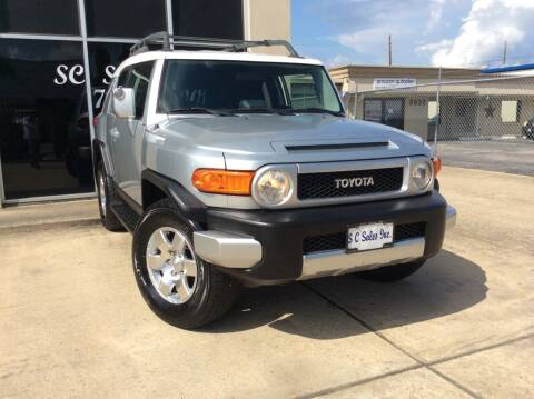 2007 Toyota FJ Cruiser for sale at SC SALES INC in Houston TX
