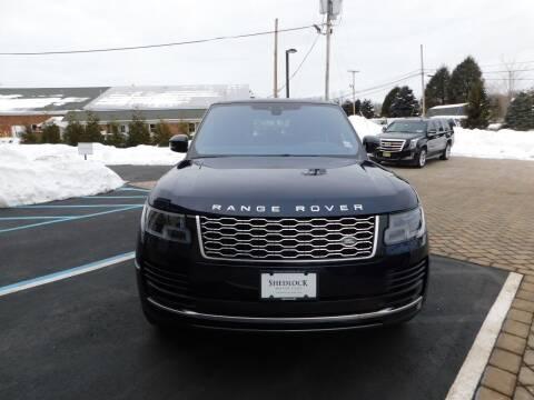 2019 Land Rover Range Rover for sale at Shedlock Motor Cars LLC in Warren NJ