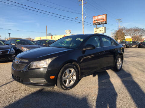 2011 Chevrolet Cruze for sale at Autohaus of Greensboro in Greensboro NC