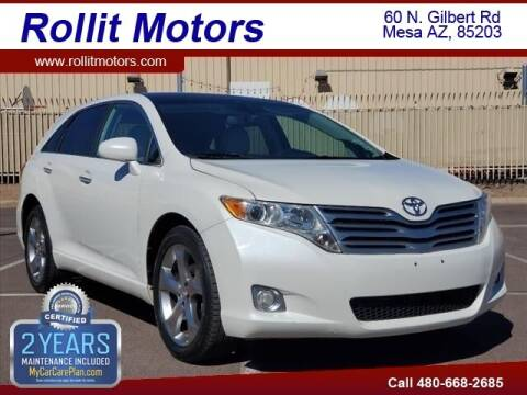 2010 Toyota Venza for sale at Rollit Motors in Mesa AZ