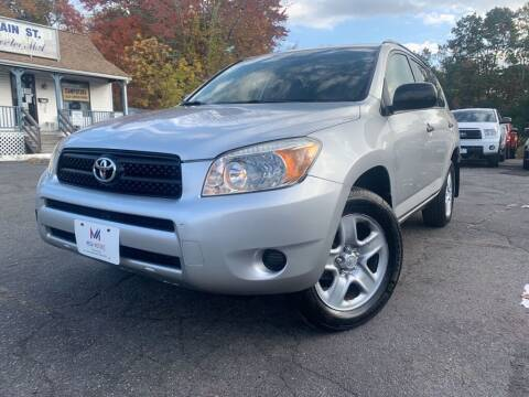 2008 Toyota RAV4 for sale at Mega Motors in West Bridgewater MA