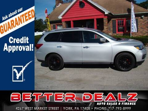 2017 Nissan Pathfinder for sale at Better Dealz Auto Sales & Finance in York PA