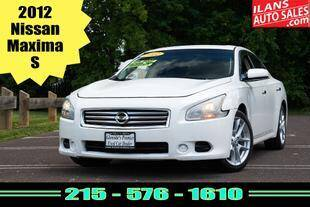 2012 Nissan Maxima for sale at Ilan's Auto Sales in Glenside PA