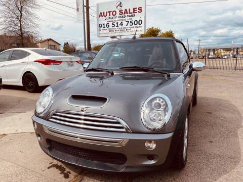 2006 MINI Cooper for sale at A1 Auto Sales in Sacramento CA