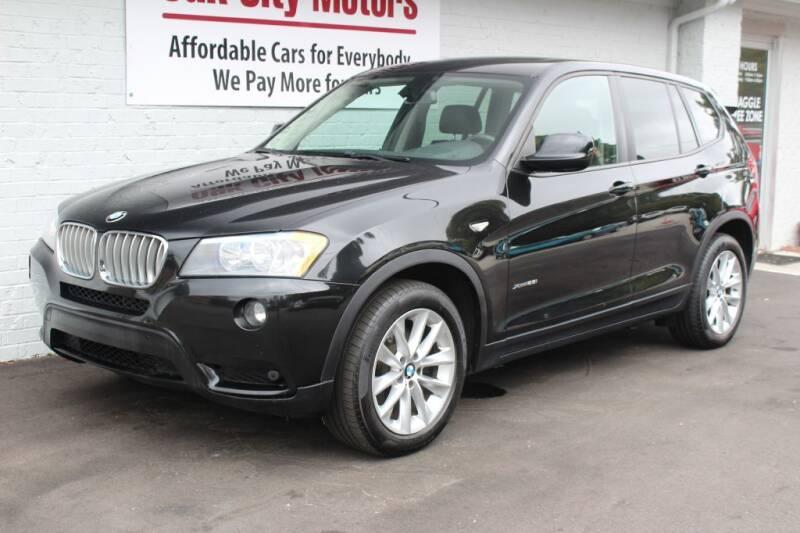 2014 BMW X3 for sale at Oak City Motors in Garner NC