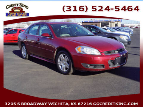 2009 Chevrolet Impala for sale at Credit King Auto Sales in Wichita KS
