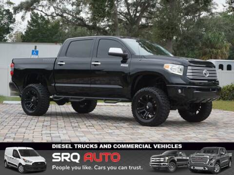 2014 Toyota Tundra for sale at SRQ Auto LLC in Bradenton FL