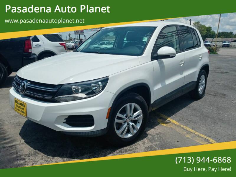2013 Volkswagen Tiguan for sale at Pasadena Auto Planet in Houston TX