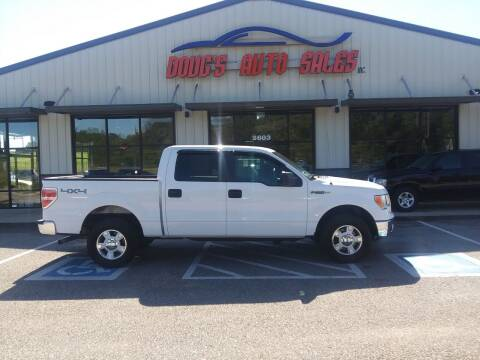 2012 Ford F-150 for sale at DOUG'S AUTO SALES INC in Pleasant View TN
