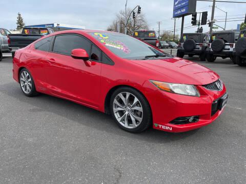2012 Honda Civic for sale at 5 Star Auto Sales in Modesto CA