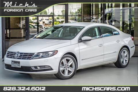 2013 Volkswagen CC for sale at Mich's Foreign Cars in Hickory NC