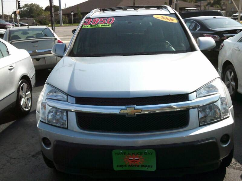2006 Chevrolet Equinox for sale at JIMS AUTO MART INC in Milwaukee WI