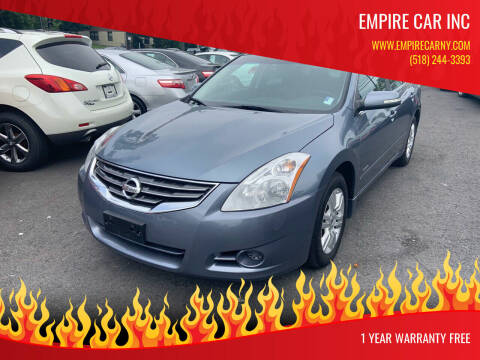 2010 Nissan Altima Hybrid for sale at EMPIRE CAR INC in Troy NY