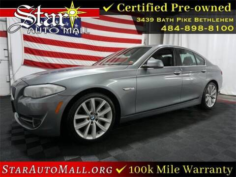 2013 BMW 5 Series for sale at STAR AUTO MALL 512 in Bethlehem PA