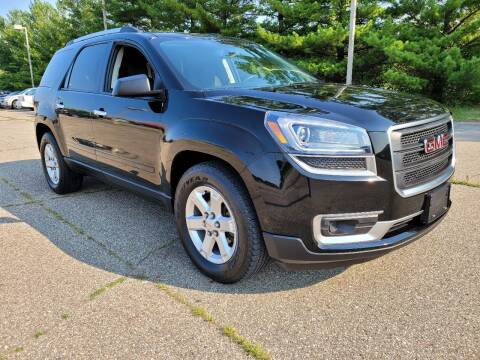 2016 GMC Acadia for sale at Finish Line Auto Sales Inc. in Lapeer MI