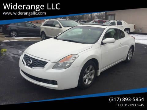 2008 Nissan Altima for sale at Widerange LLC in Greenwood IN