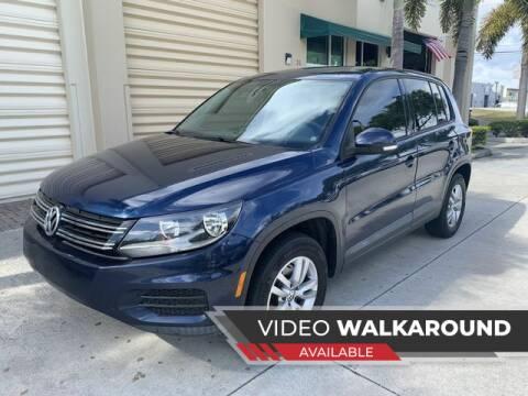 2012 Volkswagen Tiguan for sale at AUTOSPORT MOTORS in Lake Park FL