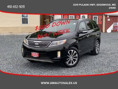 2014 Kia Sorento for sale at A&M Auto Sales in Edgewood MD