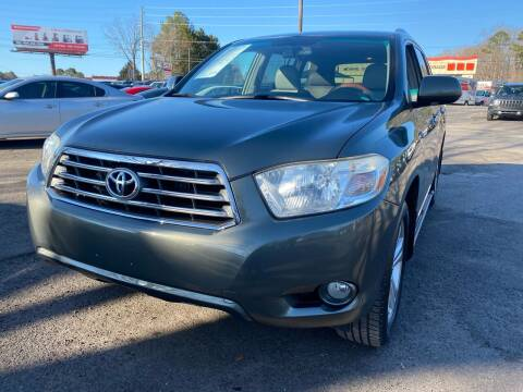 2008 Toyota Highlander for sale at Atlantic Auto Sales in Garner NC