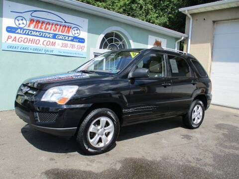 2010 Kia Sportage for sale at Precision Automotive Group in Youngstown OH