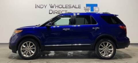 2013 Ford Explorer for sale at Indy Wholesale Direct in Carmel IN