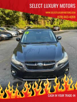 2012 Subaru Impreza for sale at Select Luxury Motors in Cumming GA