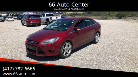 2013 Ford Focus for sale at 66 Auto Center in Joplin MO