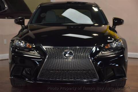 2015 Lexus IS 250 for sale at Tampa Bay AutoNetwork in Tampa FL