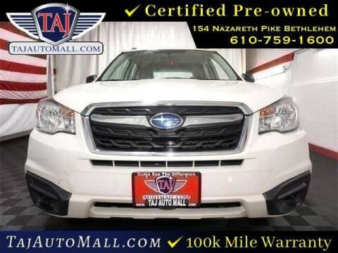 2018 Subaru Forester for sale at Taj Auto Mall in Bethlehem PA